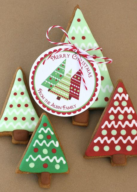 Christmas Gingerbread Trees Xmas, Christmas cookies and Cookie
