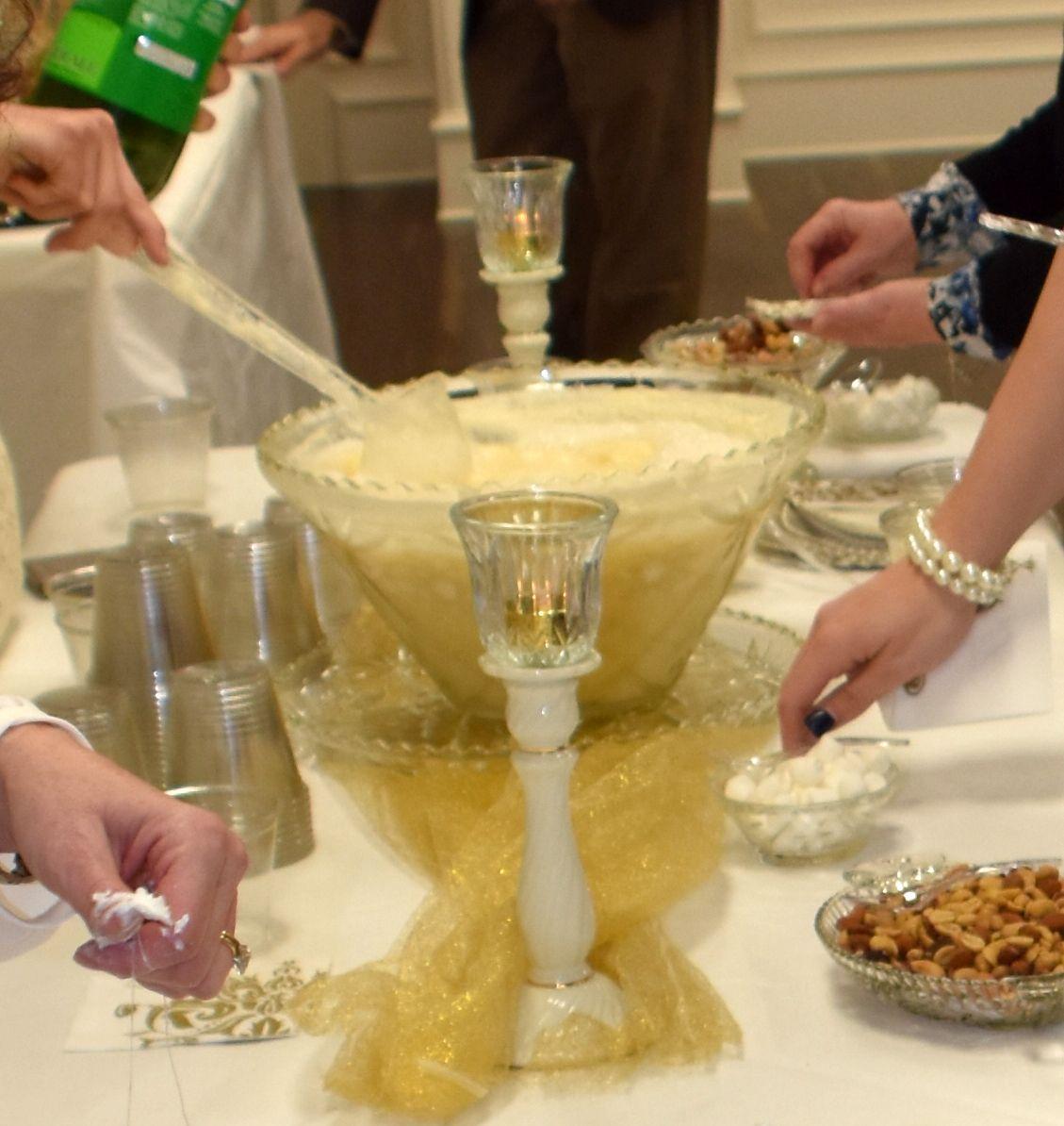 Wedding Punch Ideas: 50th Wedding Anniversary Punch Creamy Punch Recipe (Ivory