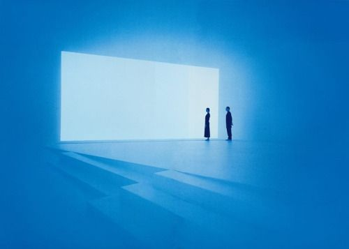 """""""My work has no object, no image and no focus... You are looking at you looking."""" — James Turrell"""