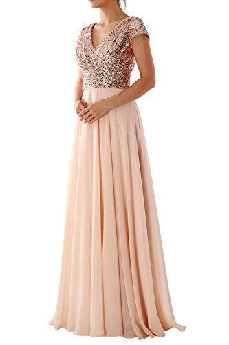 Dressyu Cap Sleeve Sequin Long Prom Party Dress Bridesmai... https://www.amazon.com/dp/B01J7NNOTY/ref=cm_sw_r_pi_dp_x_ytxCybD8ZVK62