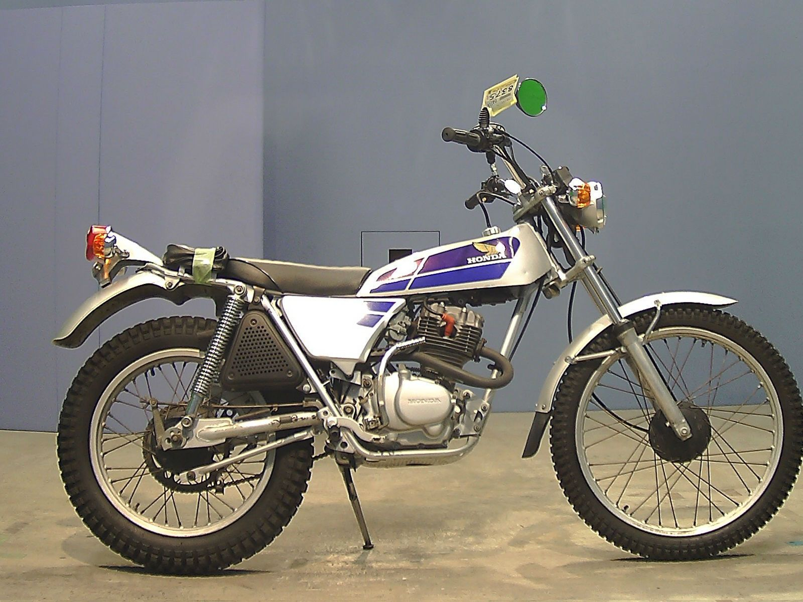 Honda Tl 125 Trial Road Legal Ebay Enduro Vintage 1970 Dirt Bike