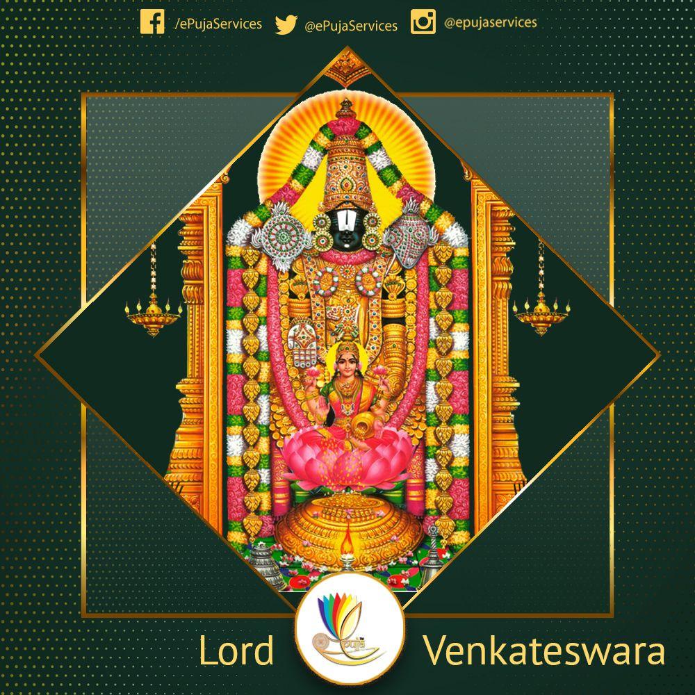 Venkateswara Also Known As Srinivasa Balaji Veṅkaṭa And