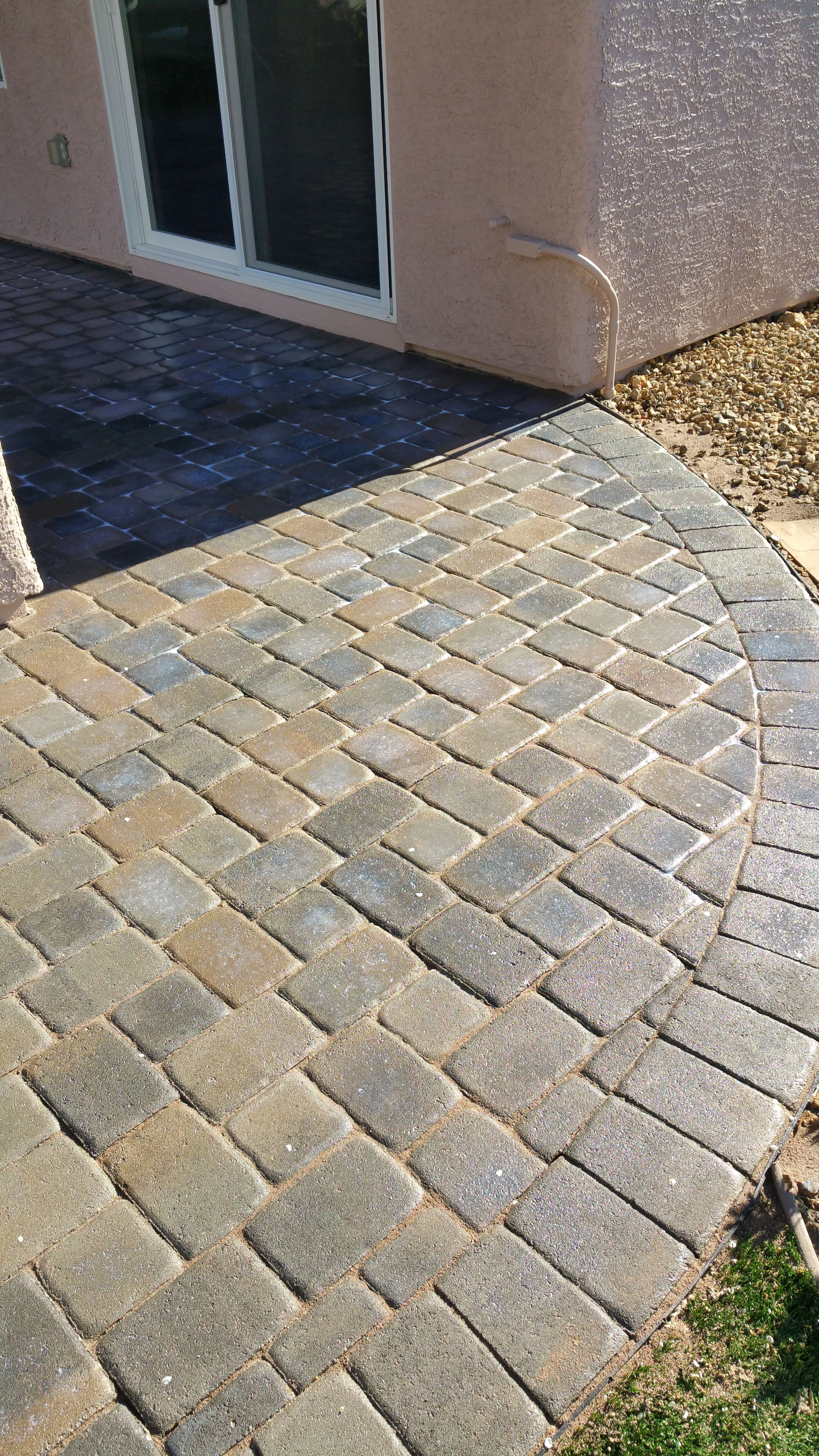 Re Seal Brick pavers, Driveway sealer, Landscape