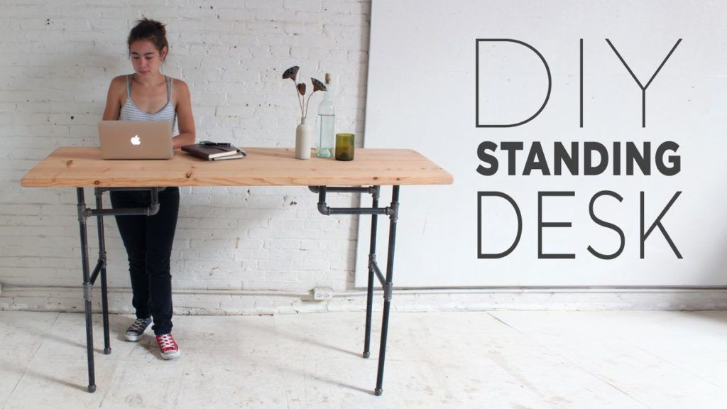 Simple Desk Plans For Home Offices Built With Love Diy Standing