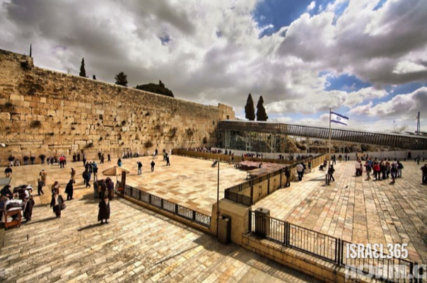 one of the most recognized and beloved icons in the entire Holy Land: the Western Wall. When God made His promise to the People of Israel that they would inherit such a tremendous gift, the true beauty that lay ahead was truly unimaginable!