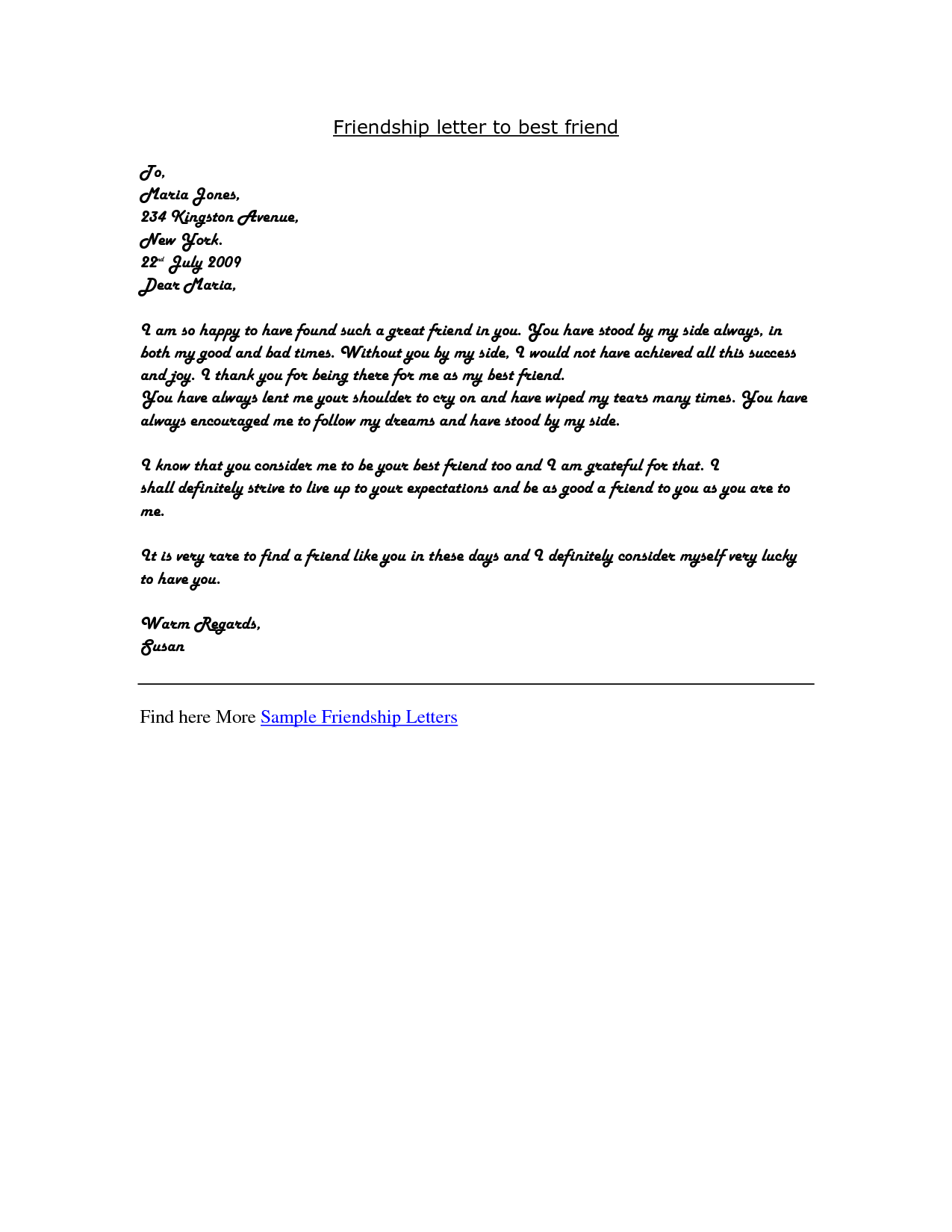 letter to a friend writing an apology letter to a friend
