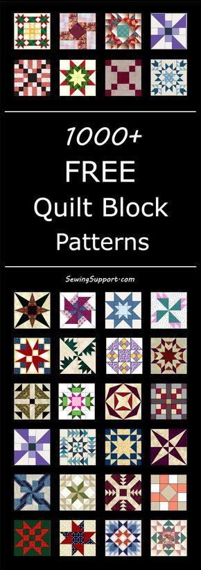 1000+ Free Quilt Block Patterns