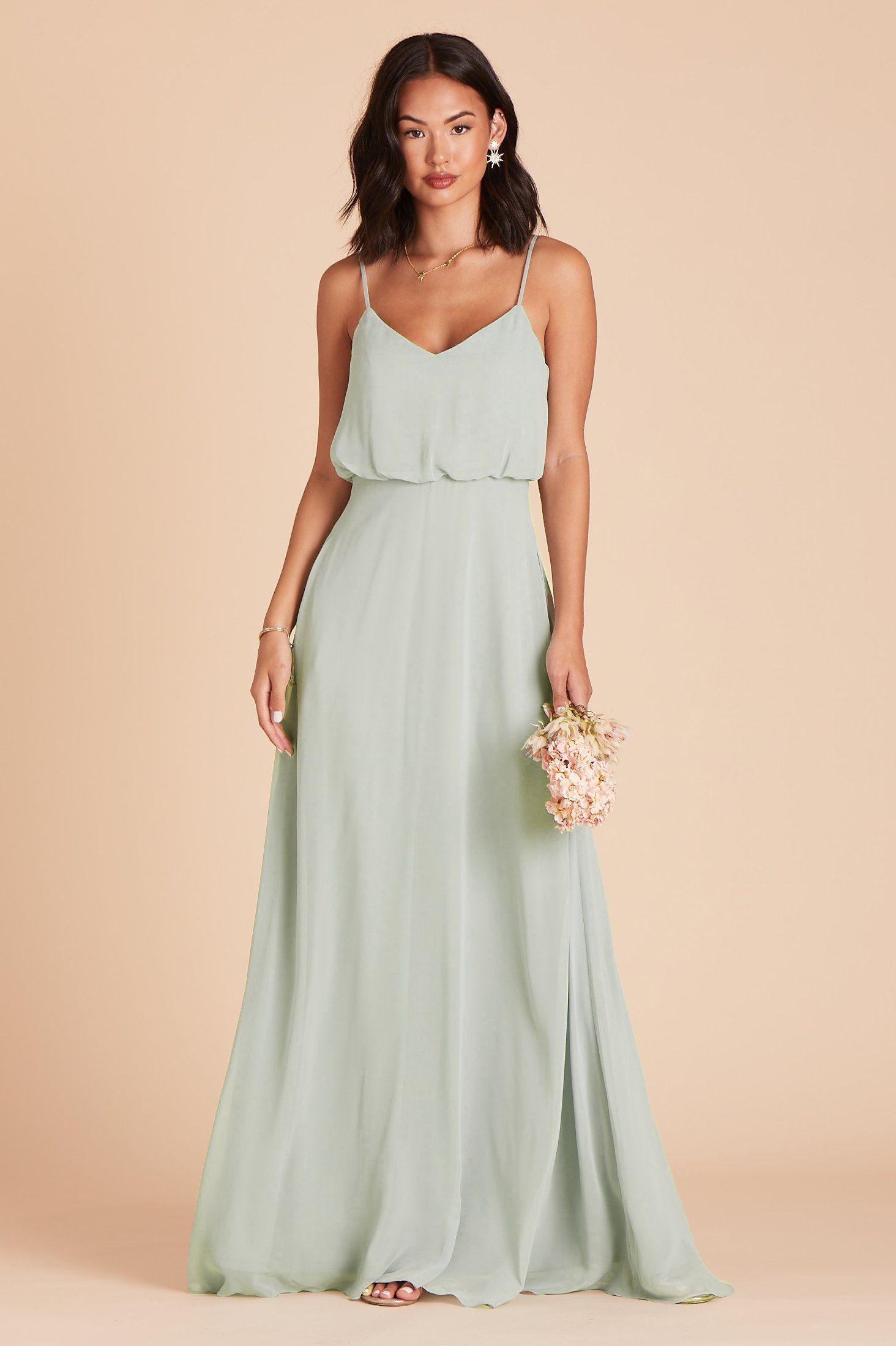 Gwennie Dress - Sage #sagegreendress