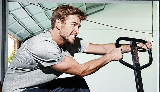 Liam Hemsworth's Hunger Games foundation training