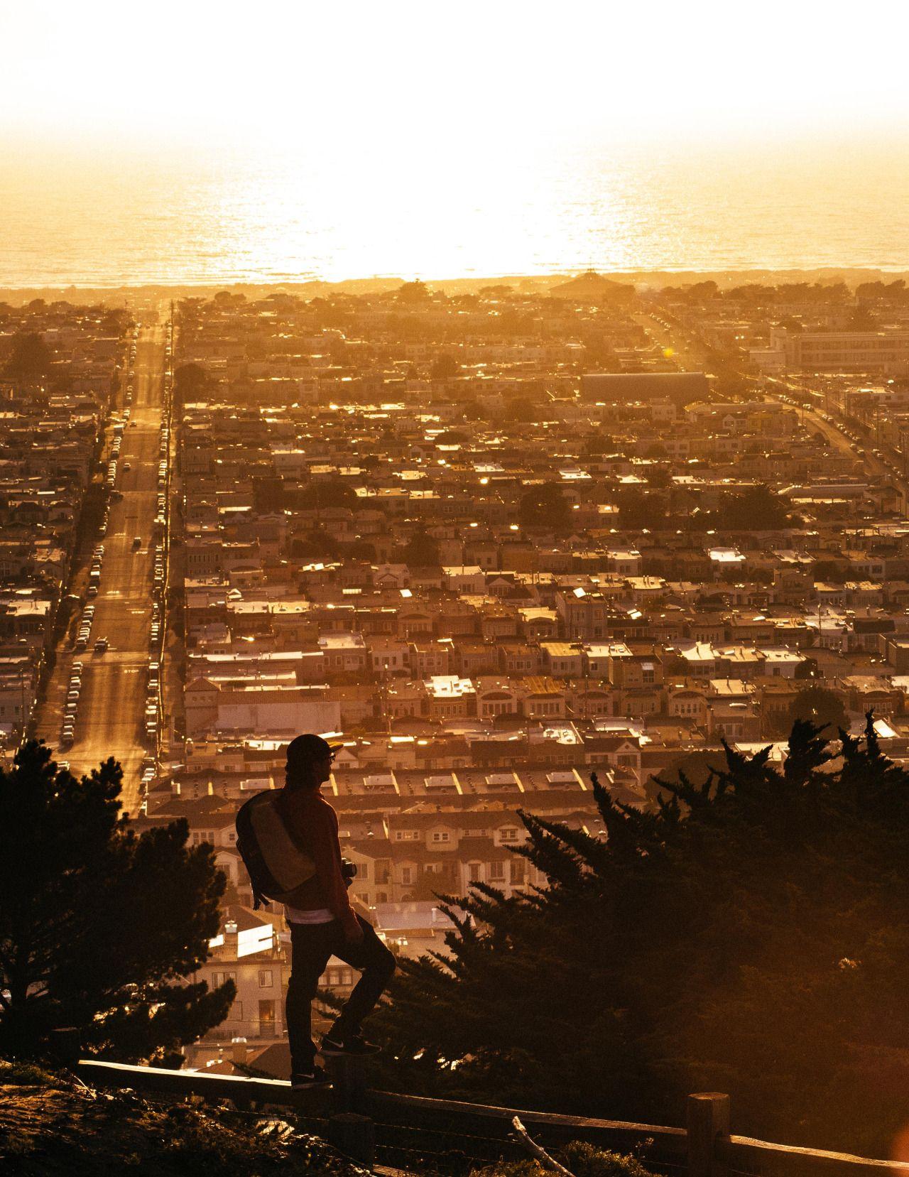 A city by the sea - Turtle Hill - San Francisco Ca - Arthur Alvarez ...