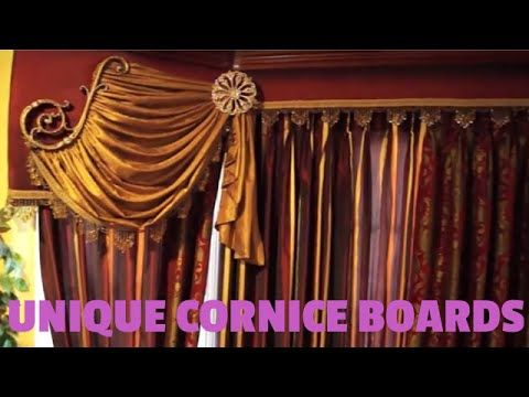 Valance Cornice Boards With Scrolls And Swags Unique Window Treatment Ideas