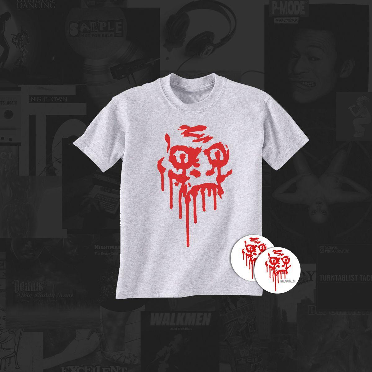DEFORMER Hybrid T-Shirt +free Serato stickers | REDRUM RECORDZ