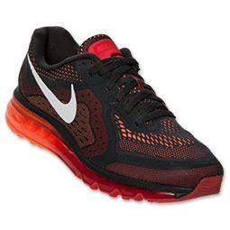 buy popular fe0d0 dff01 Men s Nike Air Max 2014 Running Shoes   FinishLine.com   Anthracite Light  Crimson Atomic Orange