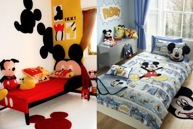 Miska muska mickey mouse decoraci n de cuarto - Habitaciones infantiles disney ...