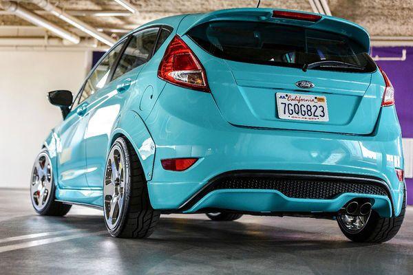 Ford Fiesta St Sema 2014 Goruntuler Ile Arabalar