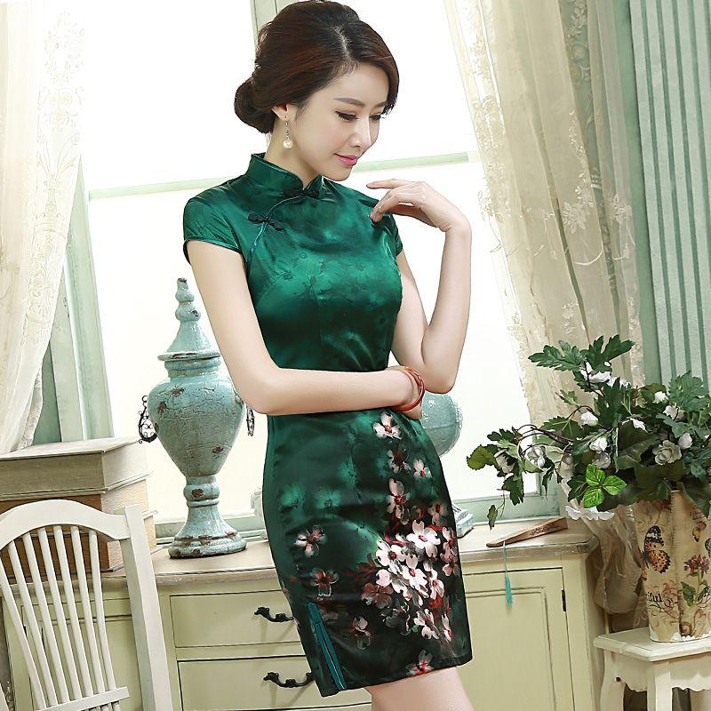Cheongsam Custom Made Wedding Dress From China Reviews Ichinesedress