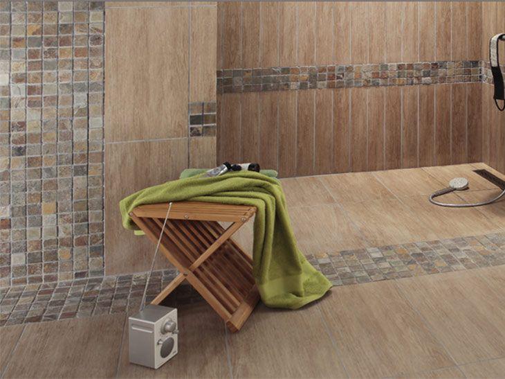 Des murs de salles de bains hauts en couleur | Leroy Merlin | SDB ...
