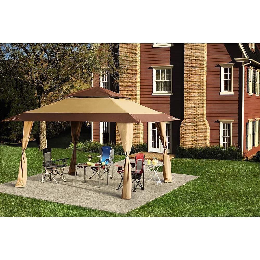 Gazebo Canopy Outdoor Garden Patio Steel Pop Up Tent 13 X 13 Wedding Party