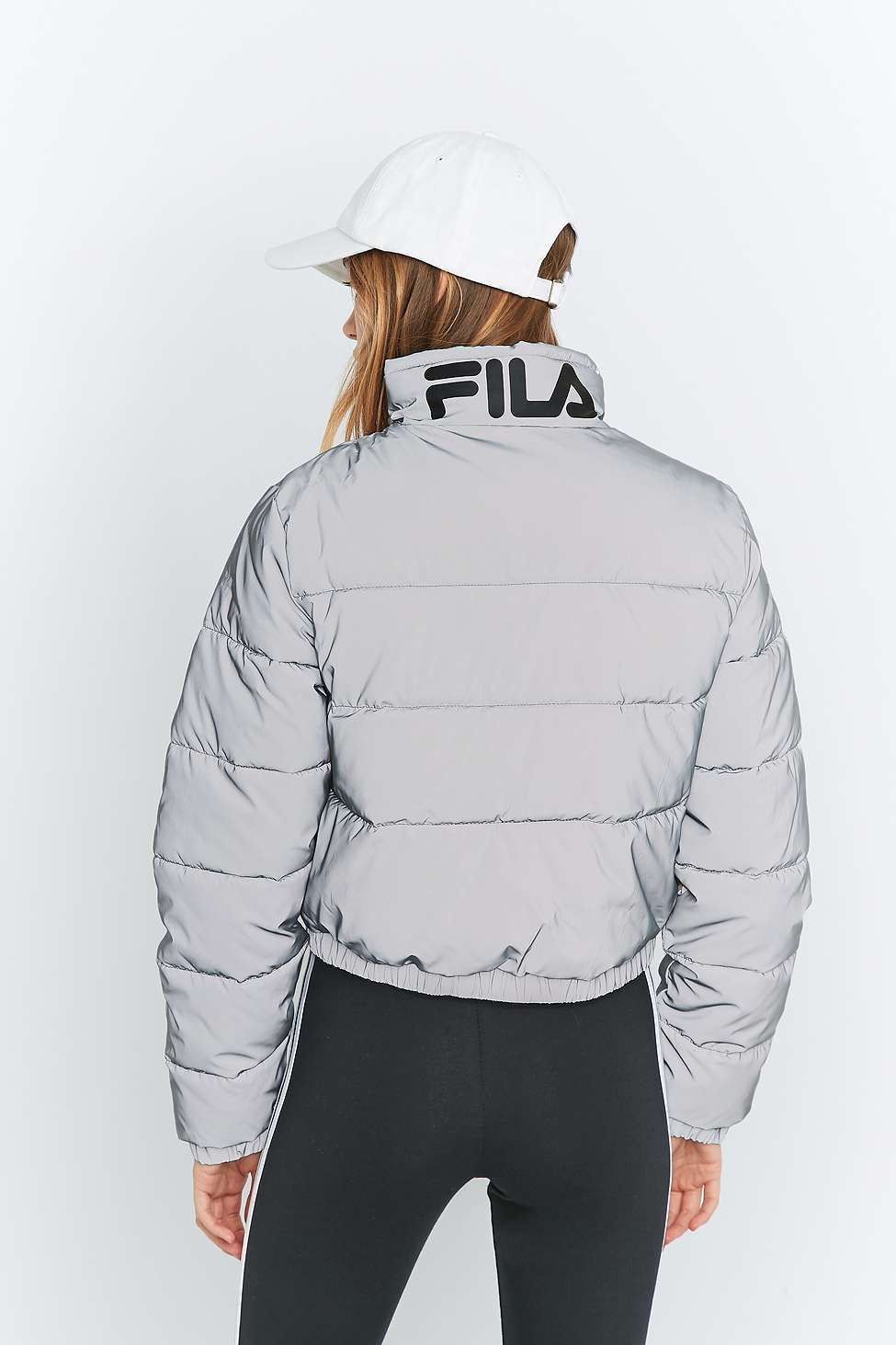 Fila Femme Blouson Zia Long Puff Jacket Black: