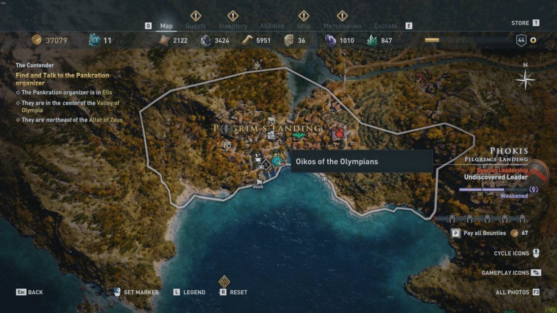 Assassin S Creed Odyssey Oikos Of The Olympians And Where To Get