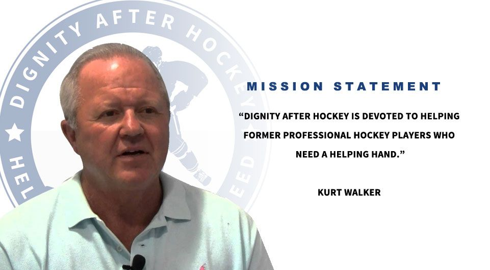 Kurt Walker Former Nhl Enforcer Heads Dignity After Hockey