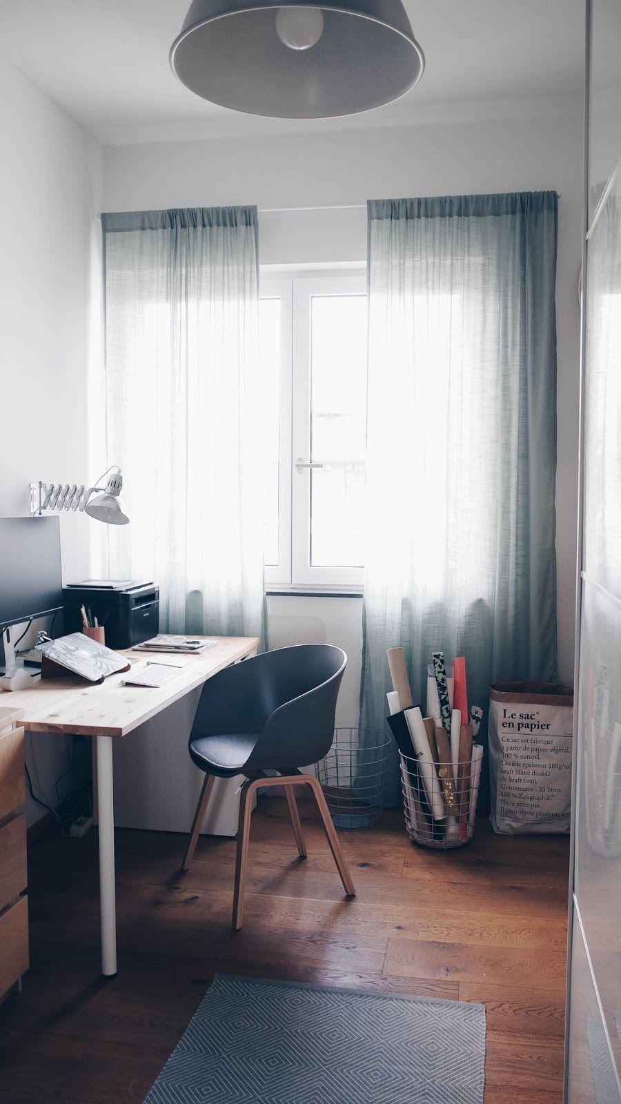 Kleines Arbeitszimmer endlich ein eigenes kleines arbeitszimmer skandinavischer stil