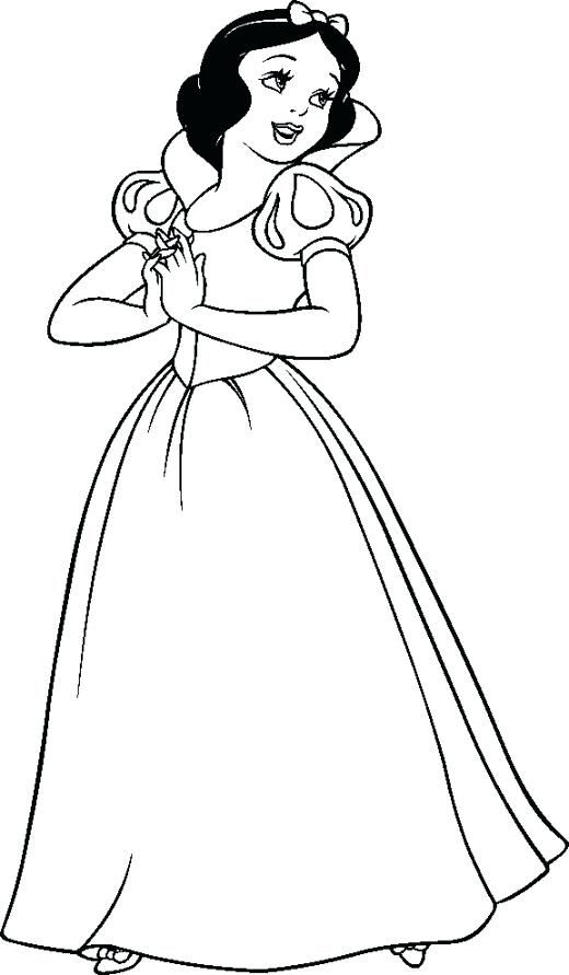 Image Result For Snow White Coloring Pages