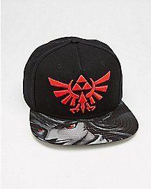 00d6cfb4a13 Shadow Link Snapback Hat - The Legend Of Zelda