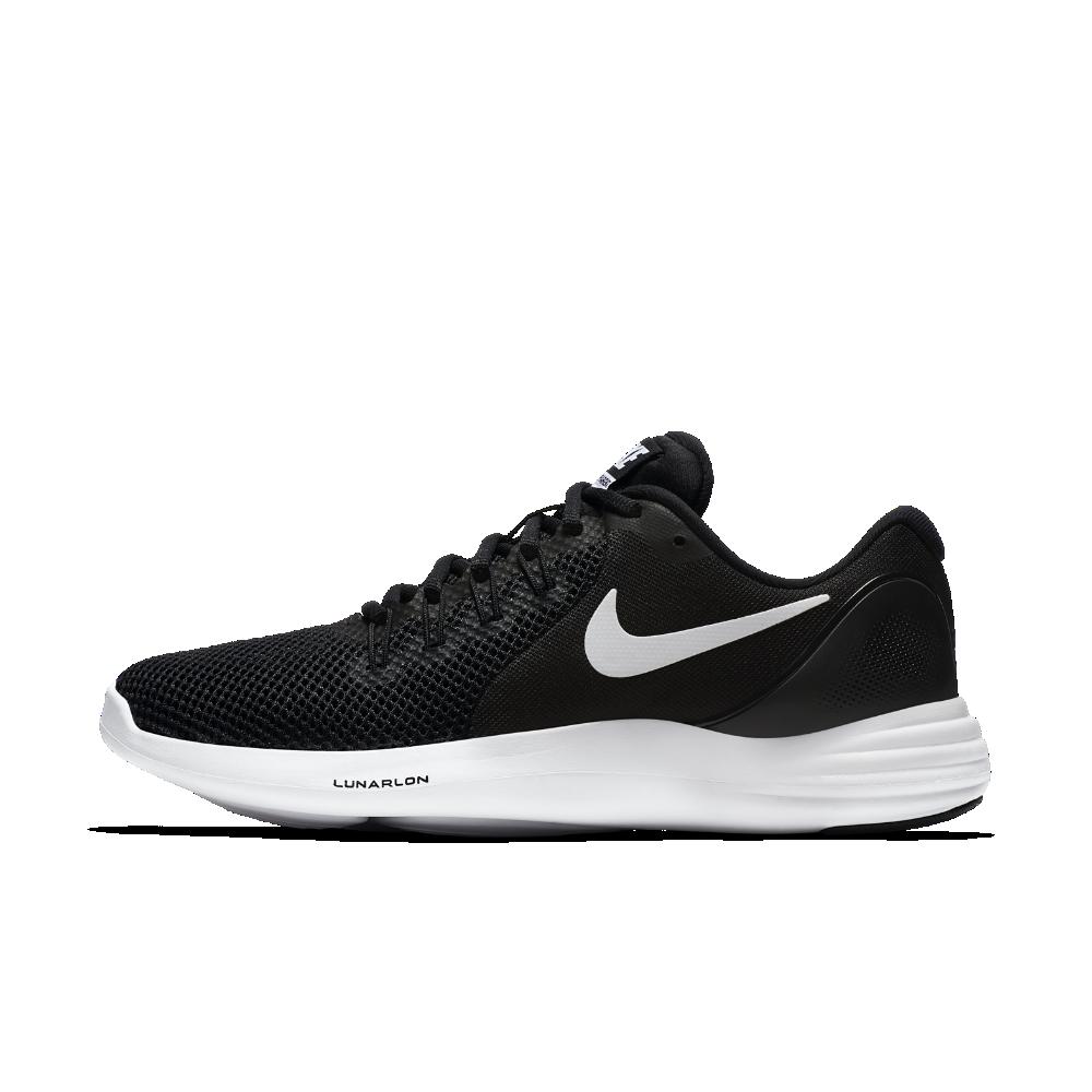 timeless design d8258 80aca Nike Lunar Apparent Women s Running Shoe Size 10.5 (Black)