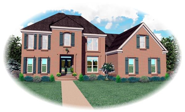Traditional   House Plan 46652
