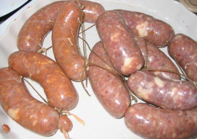 Chorizo Argentino De Puro Cerdo Casero Con Variantes Receta De Mario H Davi Receta Recetas Con Chorizo Recetas Con Embutidos Chorizo