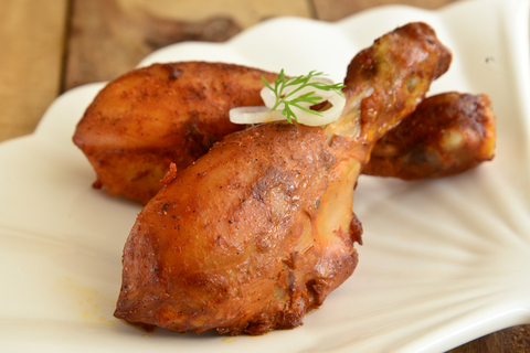 Baked Indian Tandoori Chicken #tandoorichicken