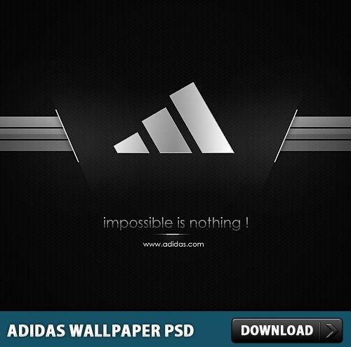 Download Free Adidas Motivational Logo Mockup in PSD | Logo psd ...