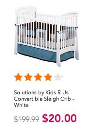 Toys R Us Clearance 90 Off Cribs Only 20 Reg 220 Changing