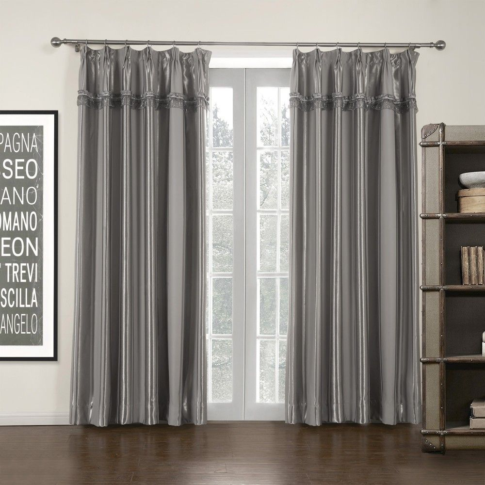 Gardinenstange Modern grey stripe mordern room darkening curtain curtains stripe modern