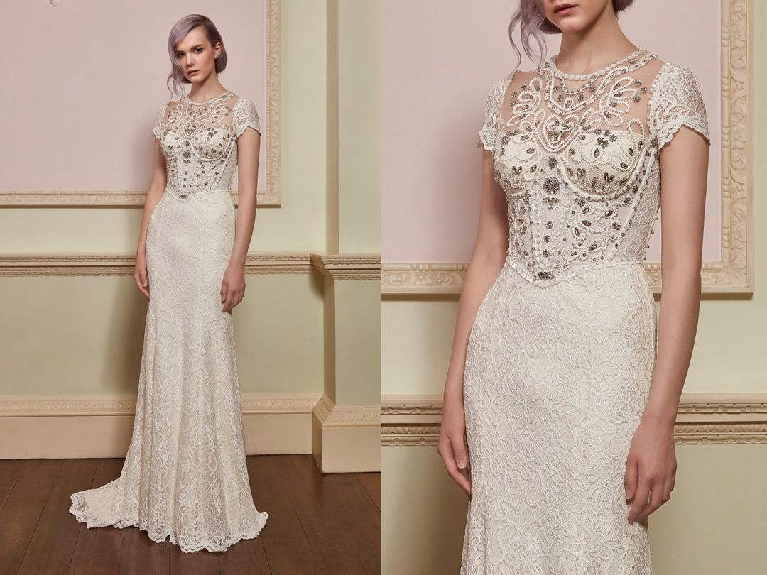 Jenny Packham | We love this body-hugging wedding dress with ...