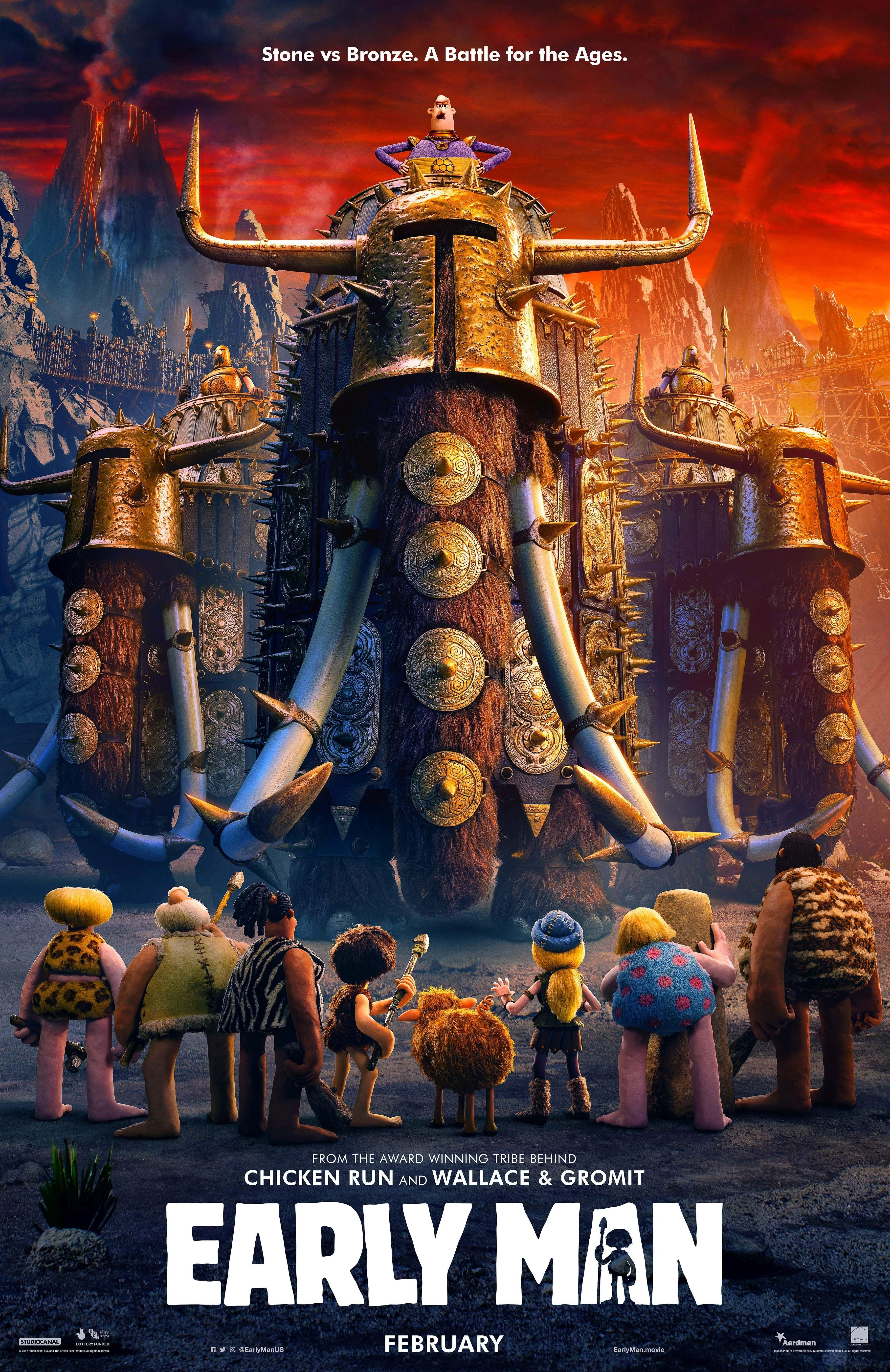 Check Out The New Teaser Trailer For The Upcoming Film Early Man Amp See The New Movie Posters For The Film Earlyman Animasyon Macera Filmleri Film