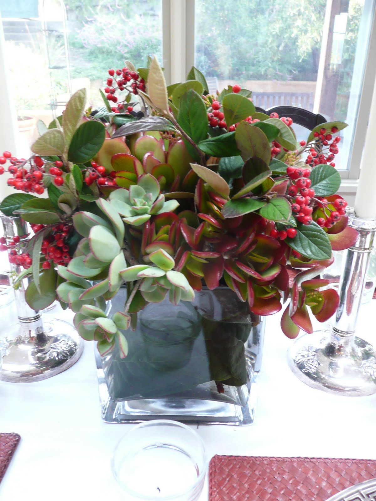 Christmas Succulent Centerpieces.Cecilie Starin Style Succulents For The Holidays Floral