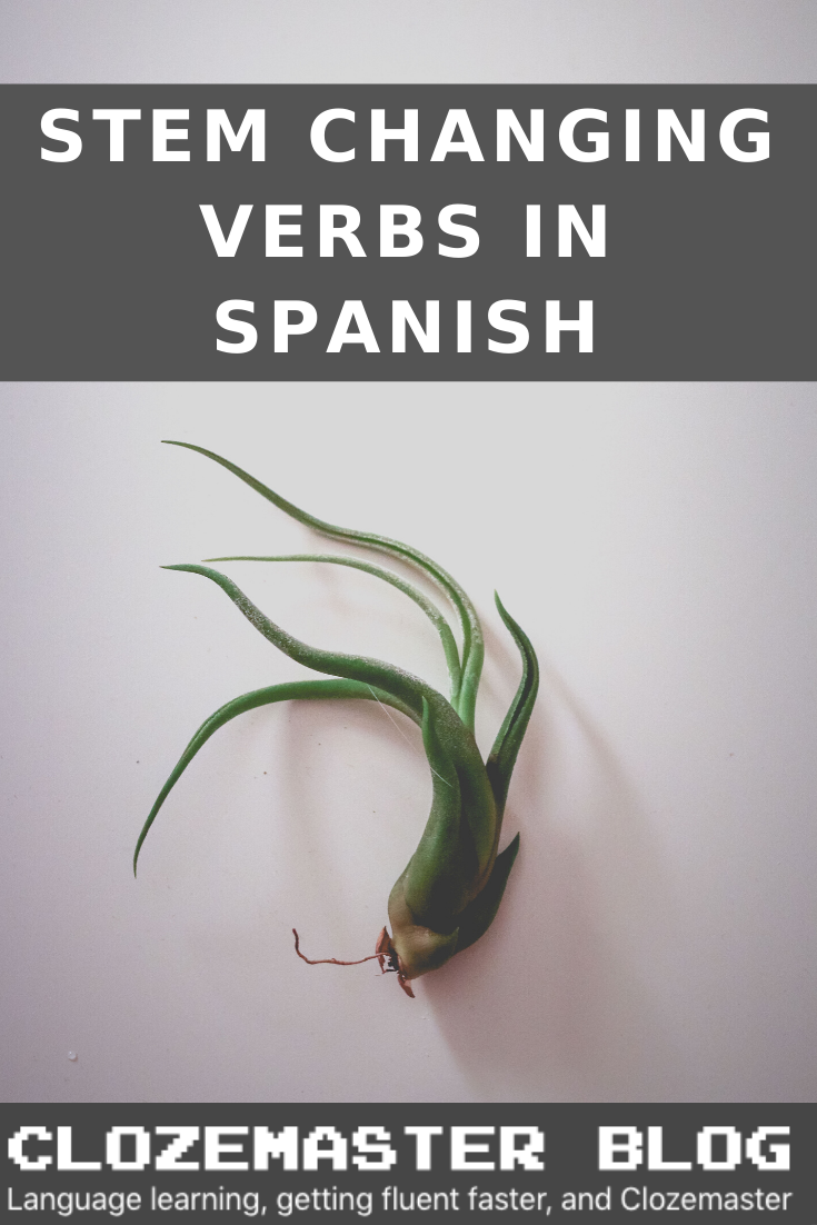A Guide To Stem Changing Verbs In Spanish How To Speak Spanish Verb Learn To Speak Spanish [ 1102 x 735 Pixel ]