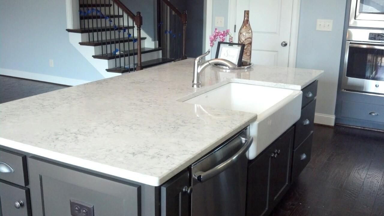 Silestone Helix Quartz Kitchen Countertops Kitchen Transformation Silestone Kitchen