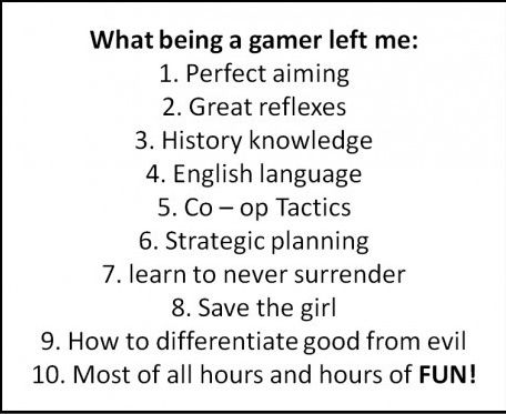Not that I would know, never having a gaming system, but pretty awesome nonetheless.