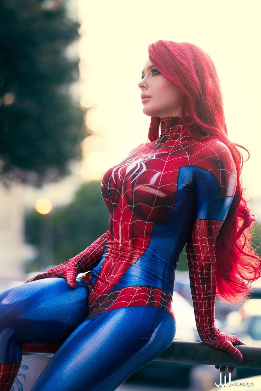 Cosplay spider girl sex-5477