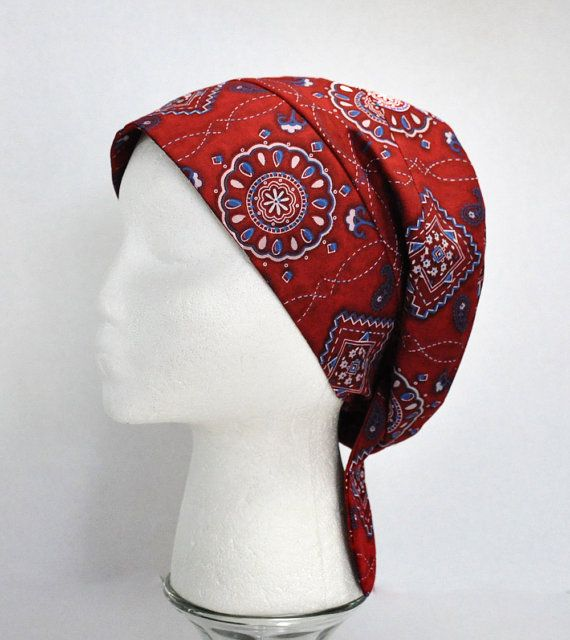 Headwrap Bandana Cancer Hat Chemo Cap Alopecia | PINK | Pinterest | Hüte