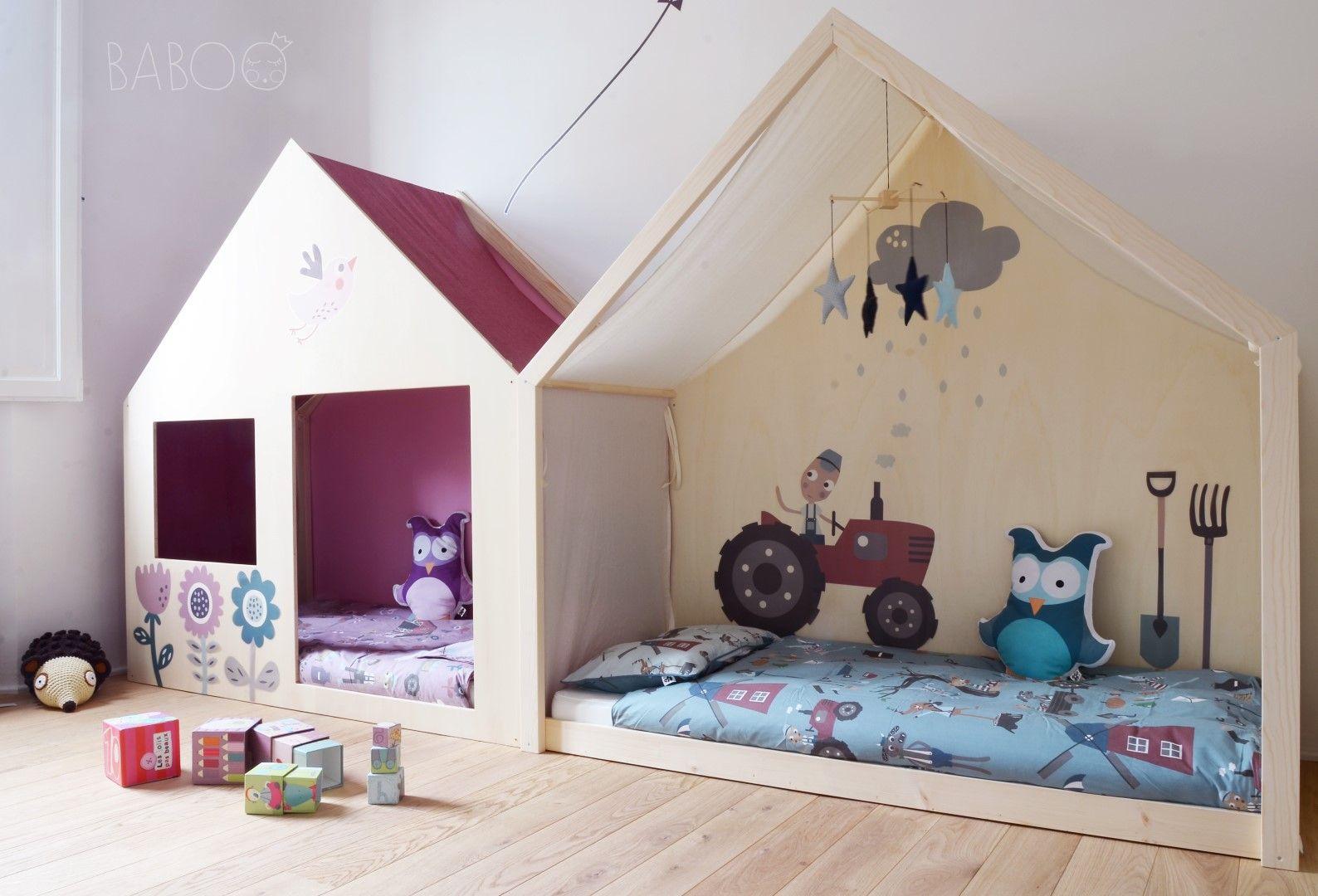 Lettino montessori tutti gi per terra kids room toddler rooms room e playroom - Femmine da letto ...
