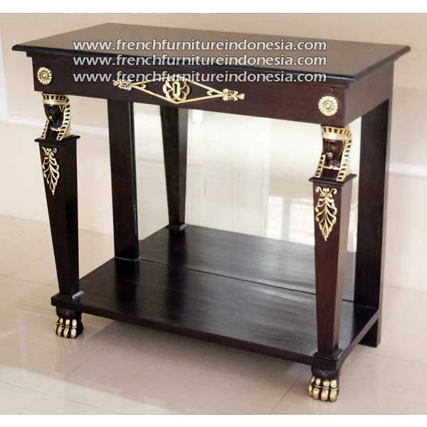 Buy Egyptian Console Table Black Pearl Marble Top From Indonesia Furniture  Manufacturers. We Are Reproduction