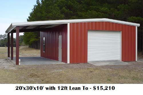Custom metal buildings macon and surrounding areas for Officina garage indipendente
