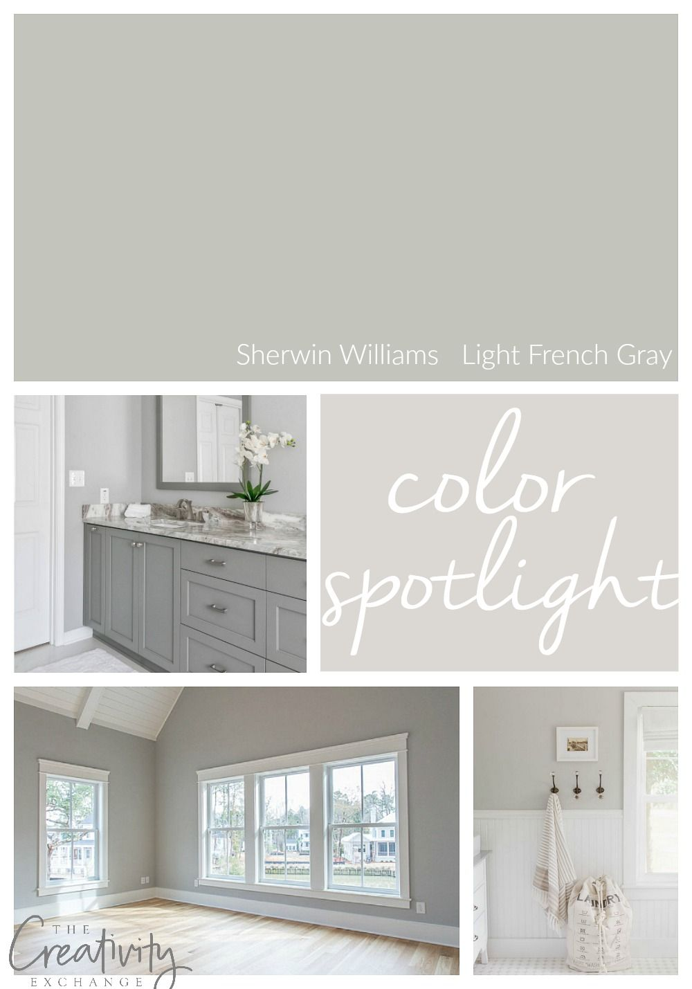 Sherwin Williams Light French Gray: Color Spotligh