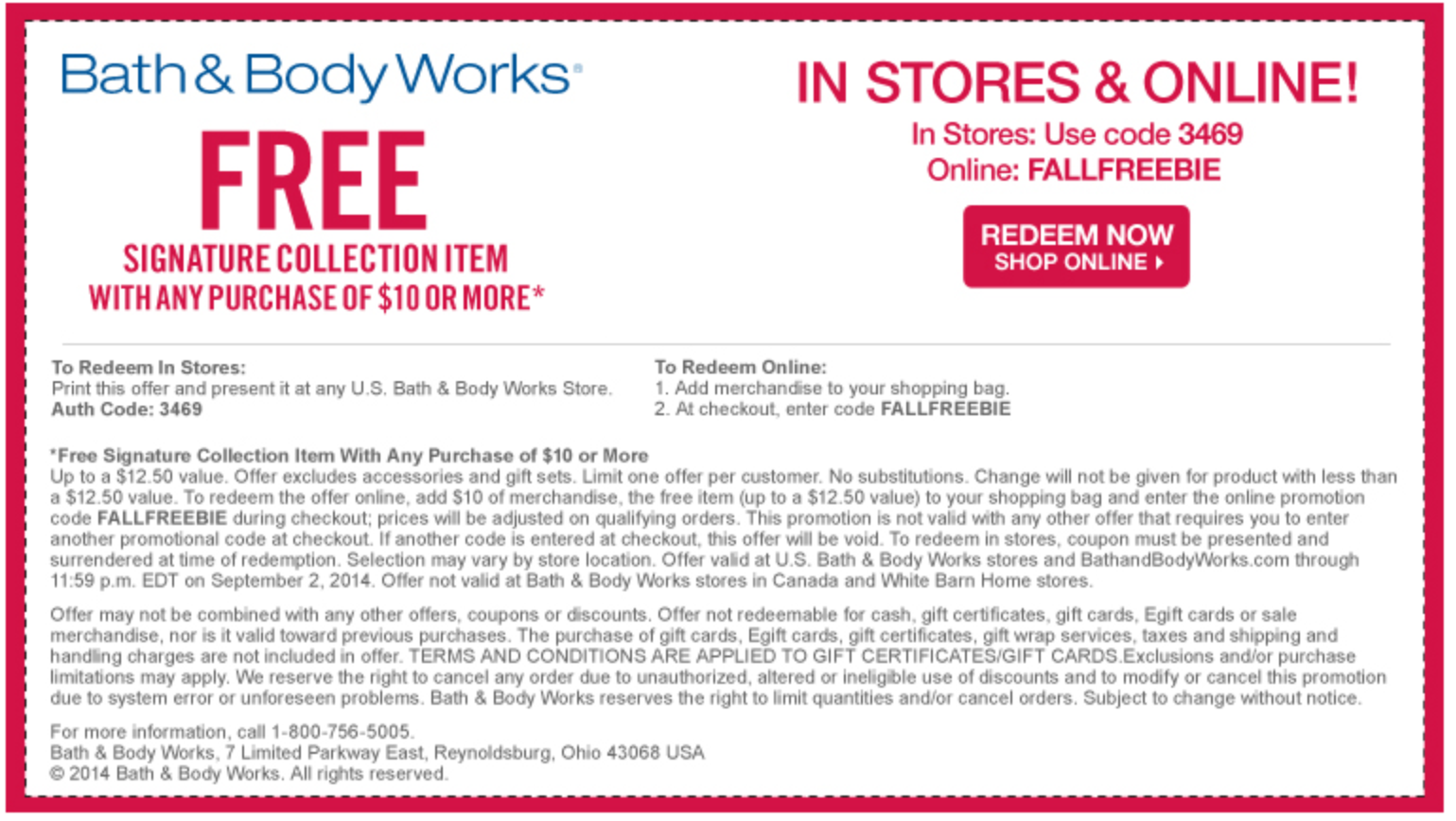Bath Body Works Coupons 12 Item Free With 10 Spent Bath And Body Free Printable Coupons Bath And Body Works