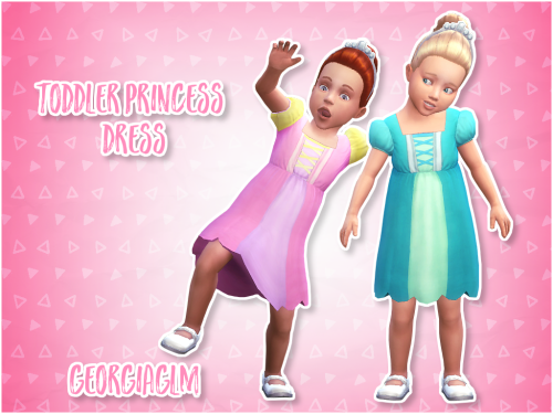 Sims 4 CC's - The Best: Toddlers Dress by GEORGIAGLM