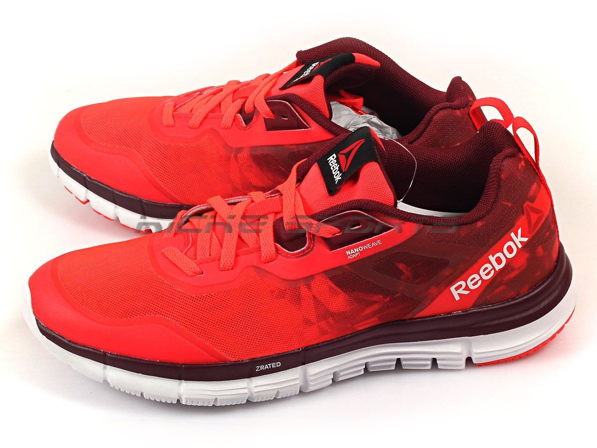 1ae292e20f2 Reebok Zquick Soul Cherry Wine White Lightweight Sportstyle Running Shoes  V66324